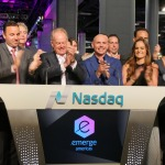 Pitbull Rings the NASDAQ Closing Bell