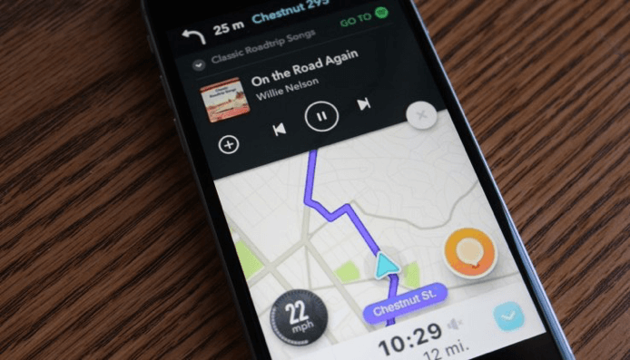 Spotify and Waze