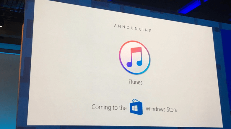 iTunes and Windows